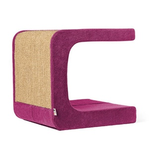Scratching Post - Letter C - Pink