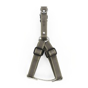 The Leather Dog Co - Grey Leather Dog Harness