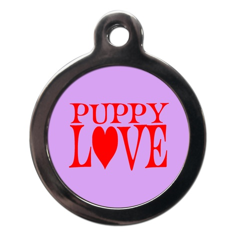 Puppy Love Dog ID Tag
