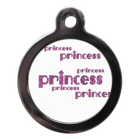 Princess Pet ID Tag