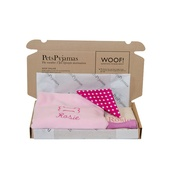 PetsPyjamas - Puppy Gift - Pink