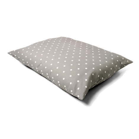 Cotton Top Day Bed - Dotty Dove Grey 2