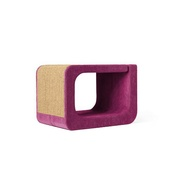 Catworks - Scratching Post - Letter O - Pink