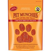 Pet Munchies - 3 x Chicken Breast Fillets 100g