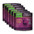 Venison Blueberries Wet Food Dog Food x 6