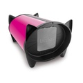 DezRez Outdoor Cat House - Hot Pink