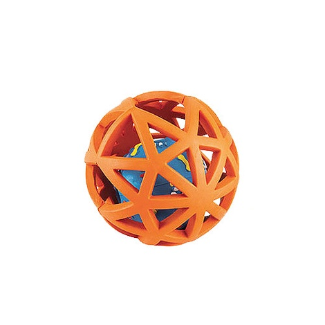 Gor Rubber Extreme Giggler Dog Toy - Orange