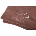Personalised Chocolate Snooze Pet Blanket - Classic  2