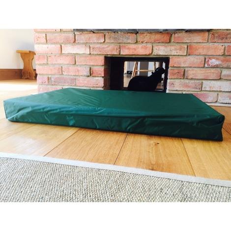 Memory Foam Corduroy Dog Bed – Biscuit 2