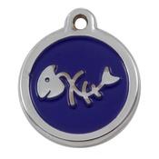 Tagiffany - My Sweetie Blue Fishbone Pet ID Tag