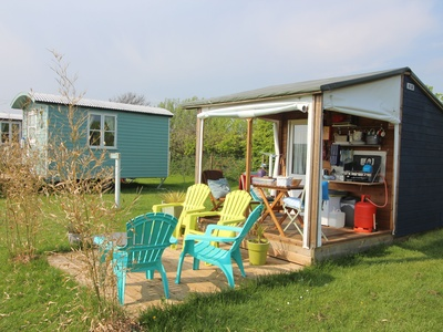 Llangennith Scamper Holidays - Timber Tent, Swansea