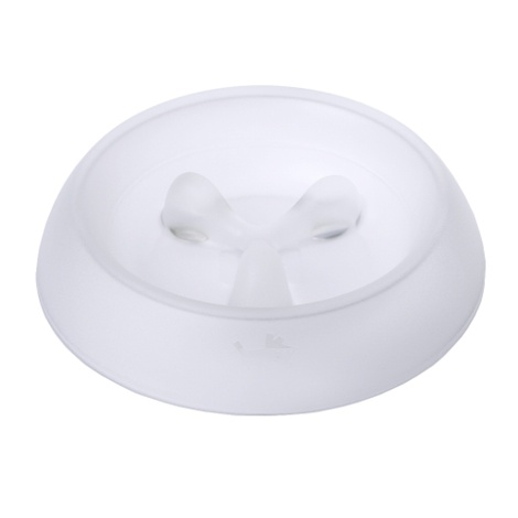 Eat Better Dog Bowl - White