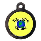 PS Pet Tags - World's Cutest Dog ID Tag