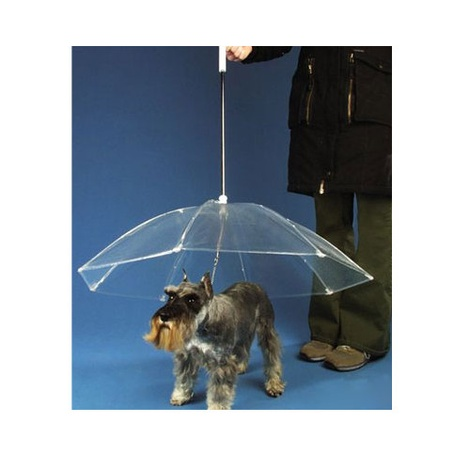 MPF Plastic Transparent Dog Umbrella  2