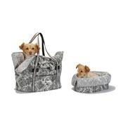 Katalin zu Windischgraetz - Sommeil et Voyage Dog Carrier Bag – Cobra & Silvery Do