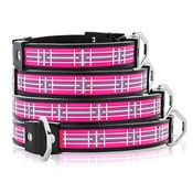 Cool Dog Club - Cool Dog K9 Striker MK1 Tartan Pink Dog Collar