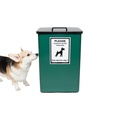 Dog Waste Bin – Green 2