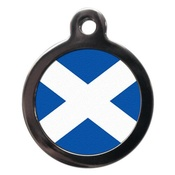 PS Pet Tags - St Andrews Flag Pet ID Tag