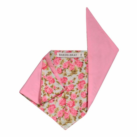 Summer Rose Dog Bandana – Pink Rose & Candy