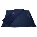 Personalised Denim Dog Bed 4