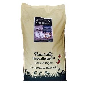 NutriHealth Senior Dog Turkey & Rice 12kg