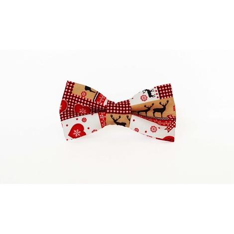 Nordic Noel Dog Bow Tie
