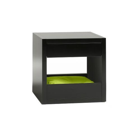Bloq Pet Bed & Side Table - Black 5