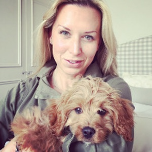 Diary of a new puppy: Lucia Ferrari talks about life with pup Momo