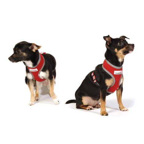 Reflective Airmesh Dog Harness – Red  6