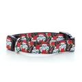 Skulls N Roses Dog Collar