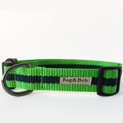 Reg&Bob - Green Dog Collar