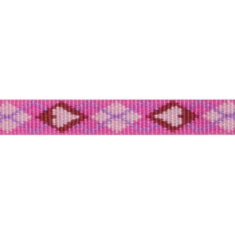 """3/4"""" Width Puppy Love Lupine Dog Collar 2"""