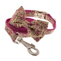 Pink Paisley Dog Collar 2