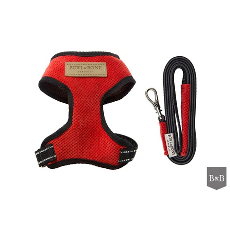 Candy Harness & Lead Set - Red