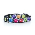 Paw Prints Dog Collar