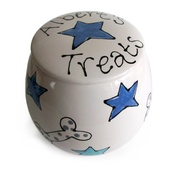 Purple Glaze Pottery - Personalised Treat Jar