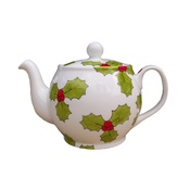 Laura Lee Designs - Holly & Berry Teapot