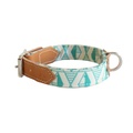 Green Geo Dog Collar 3