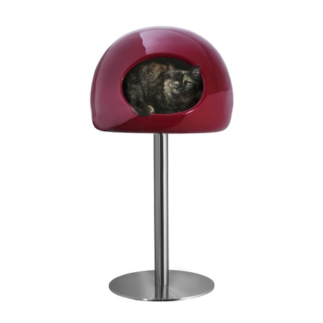 Lollipop Cat House - Red