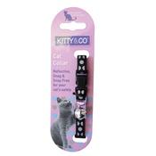 Hem & Boo - Snag & Snap-Free Cat Collar - Black