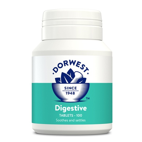 Digestive Supplement Tablets for Dogs and Cats