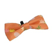 Pet Pooch Boutique - Orange Pineapple Bow Tie