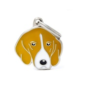 My Family - Foxhound Engraved ID Tag