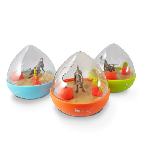 Wobble Ball Interactive Treat Toy - Green 2