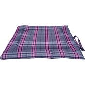 Hem & Boo - Pink Check Rollup Travel Dog Mat