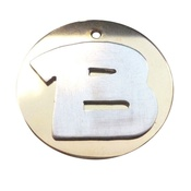 The Pet Jeweller - Alphabet ID Dog Tag