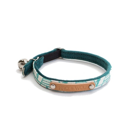 Green Geo Cat Collar 2