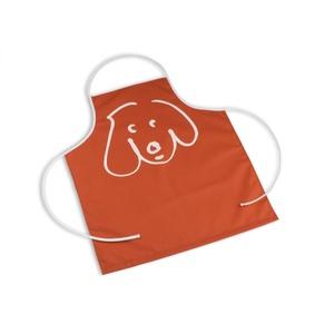 Waterproof Apron - Doodle Dog Persimmon