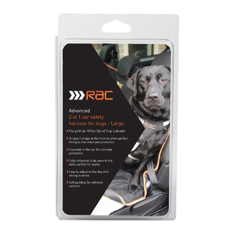 RAC Advanced Dog Car Harness 4