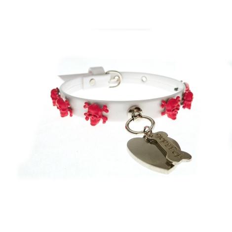 Fancy Dog Collar - Fuschia
